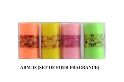 ARM-18 Perfume Pillar Candles 4 PC/PKT