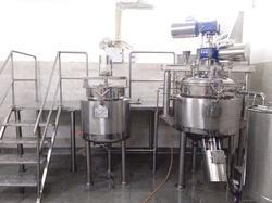 Tooth Paste Manufacturing Plant