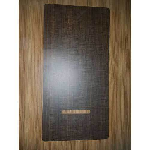 Brown MDF Laminated Sewing Machine Table Top