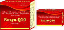 Co-Enzyme Q10 Lycopene Omega-3 Fatty Acid (EPA and DHA) Green Tea Extract and Methylcobalamin