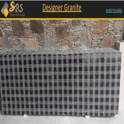 Polished Slab Designer Granite, For Flooring, Thickness: 15-20 mm