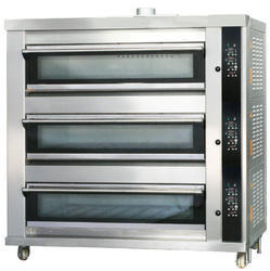 Three Deck Gas / Electric Oven
