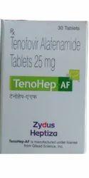 Tenohep AF Tenofovir Alafenamide 25mg Tablet
