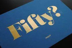 Gold Foil Printing