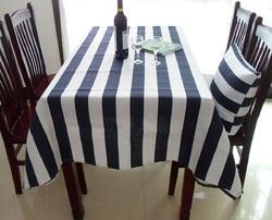 Cotton Striped Table Cloths
