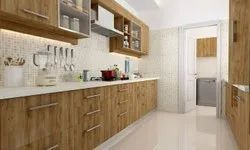 Wooden Modular Kitchen Interior Designing Service