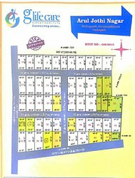 Residential Ground Floor ARUL JOTHI, Area Of Construction: Plot And House, Size/ Area: 1500