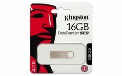 Kingston Metal 16gb Data Traveler, Memory Size: 16 GB