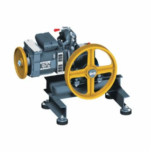 Gearless Elevator Traction Machine, Capacity: 400 Kg