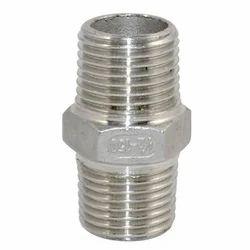 Stainless Steel Hex Nipple 202