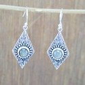 925 Sterling Silver Jewelry Labradorite Gemstone Earring