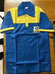 Plain Cotton/Linen PETROLPUMP STATION UNIFORMS FABRIC, Packaging Type: Plastic Bag, GSM: 50-100 GSM