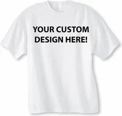 棉印花促销T恤