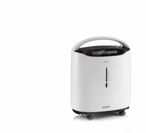 White Yes oxygen concentrator, Model Number: Yuwell 8f-5as, Capacity: 5 L