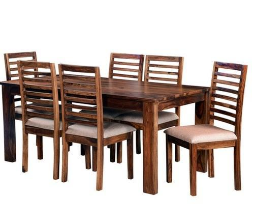 Teak Wood Dining Table And 4 Chairs