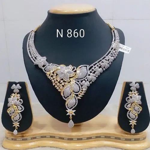 547998430d9 Bridal Sets - Silver Shine Diamond Set Manufacturer from Mumbai