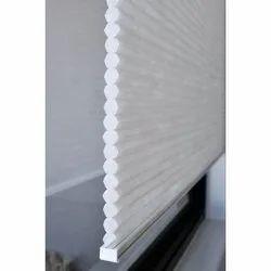 White PVC Honeycomb Cellular Window Blinds
