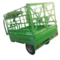 40 Km Extreme Motors Green E Rickshaw Loader, 600 Kg, 24 Tube