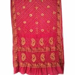 Party Wear Printed Ladies Modal Silk Sarees, With blouse piece, 5.2 m (separate blouse piece)