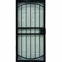 Black Mild Steel Safety Swing Door