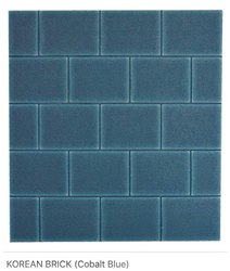 Korean Brick (Cobalt Blue) Wall Panel