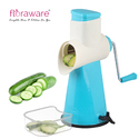 Floraware Vegetable Cutter Rotary Grater and Slicer Vacuum Base Vegetable Chopper