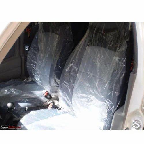 Transparent Disposable Car Seat Cover