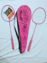 Pink Badminton Racket