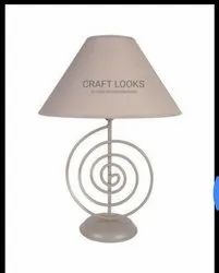 Craft Looks LED Acrylic Base Table Lamp, For Home