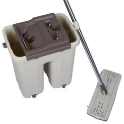 Flat Mop With Bucket