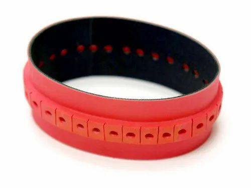 Raised Pink Slow Down Belt
