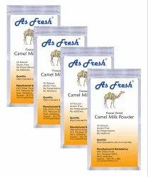 Freeze Dried Camel Milk Powder 80gm-4x20g, Pack Size: 4x20 Gm Pouch