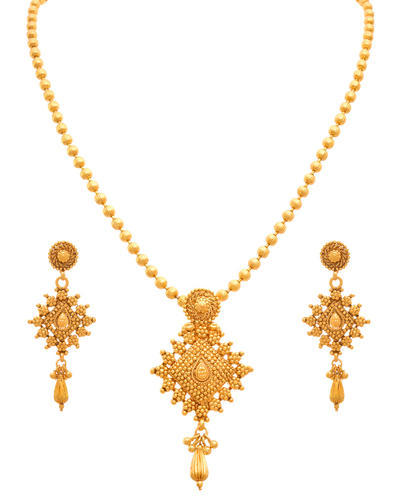 Golden ht 66 cm jfl gold plated designer pendant set rs 699 set golden ht 66 cm jfl gold plated designer pendant set mozeypictures Choice Image