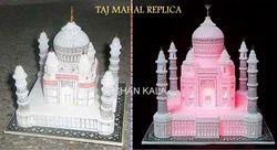 Marble Taj Mahal Cum Miniature Models