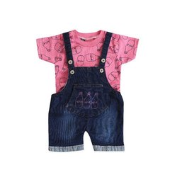 Forever Young Cotton,Denim Baby Modern Dungarees