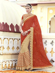 Stylish Georgette Saree