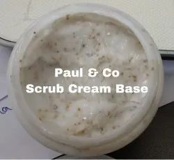 Face Scrub Cream Base