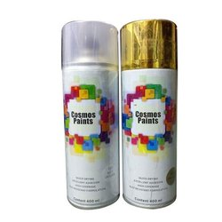 Silver And Golden Cosmos Metallic Paint, Packaging Type: Can