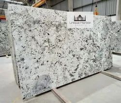 Blue and white Polished Blue Dunes Granite, Thickness: 15-20 mm, Countertops