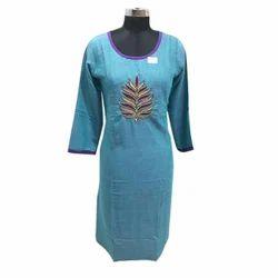 Xxl Stitched Designer Ladies Kurti