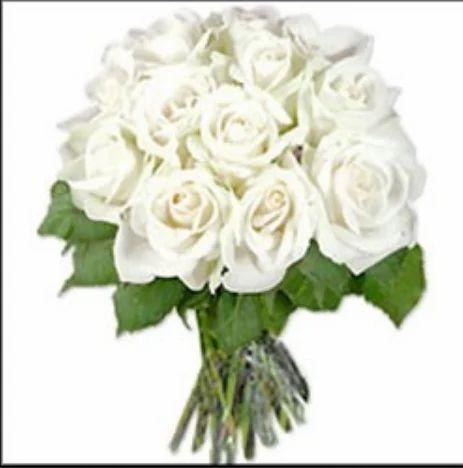 White Roses Bunch Flowers Bakers Fun Guntur Id