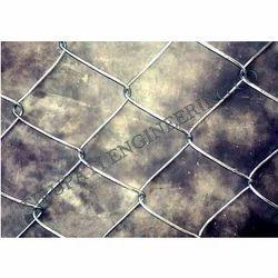 GI Chain Link Mesh Fabric