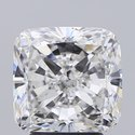 Cushion Cut 3.71ct Lab Grown Diamond CVD F SI1 IGI Certified Stone