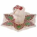 Marble Ganesha Rangoli Chowki