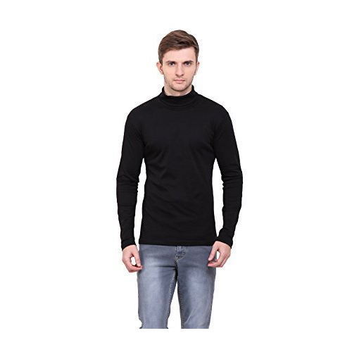d1dadb938a4e22 Black Small , Large Color High Neck Full Sleeve Mens T-shirt, Rs 599 ...