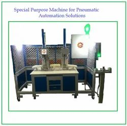Special Purpose Machine For Pneumatic Automation Solutions, Model: Iyalia, Capacity: 40 To 50 Pcs / Hour