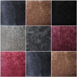 La Realeza Polyster Plain Velvet Raising Sofa Fabric