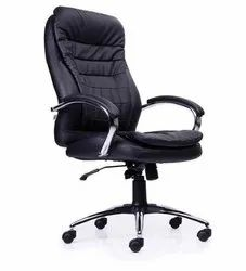High Back Rotatable Leather CEO Chair
