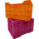 Rectangular Plastic Grapes Box Crate