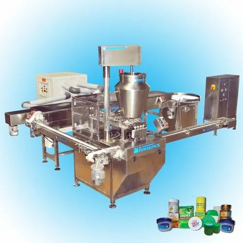 Pain  Balm Filling & Capping Machine